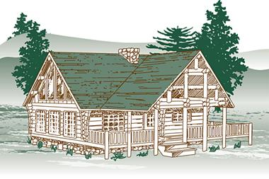 Cold Mountain Log Home Package