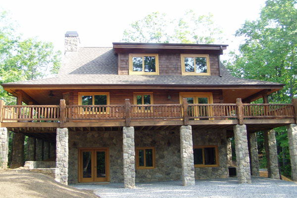 Funding Retirement with Log Home Rental Income