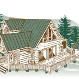 Hidden Lake Log Home Package