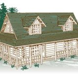 Rocky Ridge Log Home Package