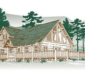 Parkway View Log Home Package