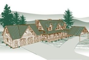 Rocky Mountain High Log Home Package